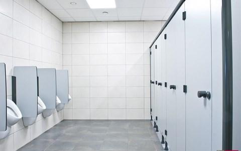 Sanitaire cabines afkor - Wandbekleding voor wc ...